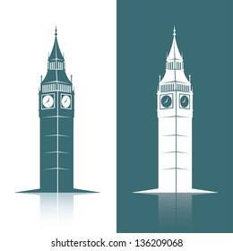 Big Ben - vector illustration