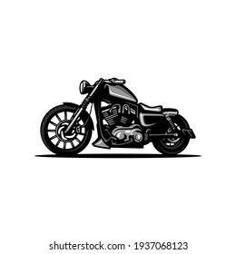 big bike motor cycle illustration vector art