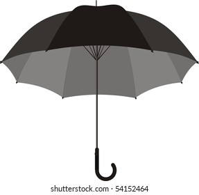 big black umbrella