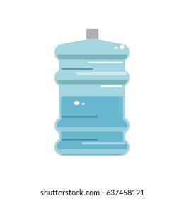 big bottle of drinking water container plastic
