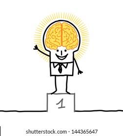 big brain man & excellence
