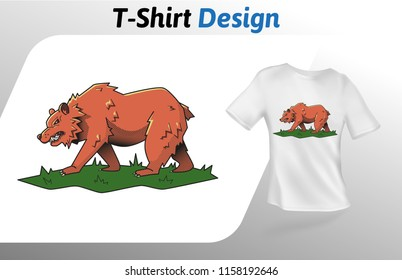 brown bear template images stock photos vectors shutterstock