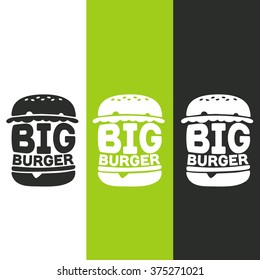 Big Burger logos/stickers/emblem