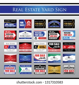 Big Collection Real Estate Yard Signage, For Sale Yard Sign