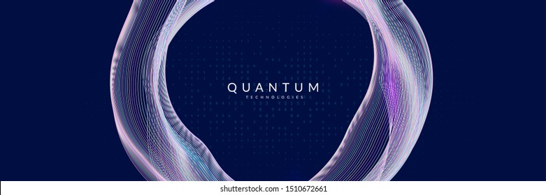 Big data abstract. Digital technology background. Artificial intelligence and deep learning concept. Tech visual for industry template. Vector big data abstract backdrop.