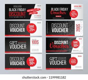 Big discount and gift voucher set.