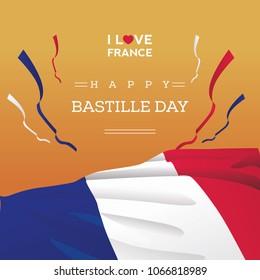 Big Flag France Bastille Day