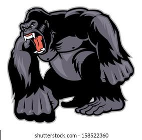 Big Gorilla mascot