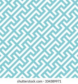 Big Greek keys diagonal pattern background. Vintage retro vector design element.