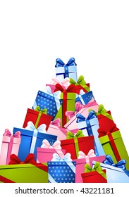 The big heap of gifts