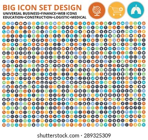 Big icon set,Website symbol,Construction,Industry,Ecology,Medical,healthy & Food icon set,clean vector