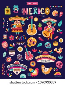 Big Mexican vector collection