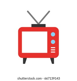 Big old television