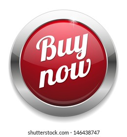 Big round red buy now button