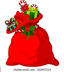 Big Santa�¢??s sack full of gifts