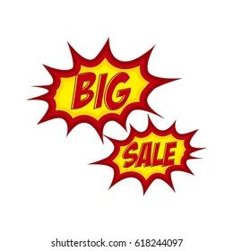 Big Sale cartoon letter