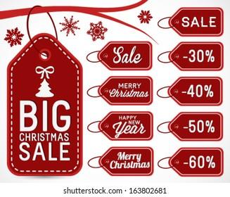christmas sticker offer images stock photos vectors shutterstock