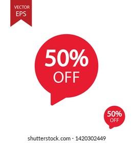Big sale frame, sticker, mega cost reduction EPS Vector