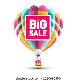 Big Sale Hot Air Balloon Icon