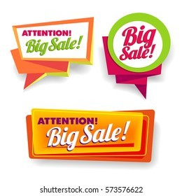 Big Sale Poster, Banner, Lead, or Pamphlet flat discount offer.