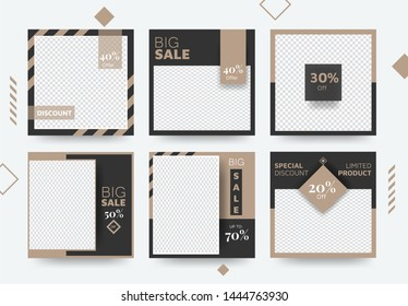 Big Sale Social Media Banner Template Collection