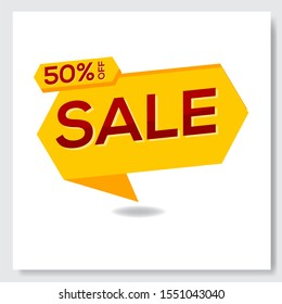 BIG Sale and special offer. 50% off. 30% off. 25%off. Shop or online shopping. Sticker, badge, coupon, store. Vector Illustration.