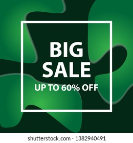 big sale vector design for business