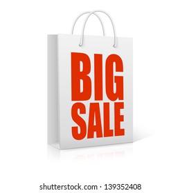 Big sale,  vector illustration