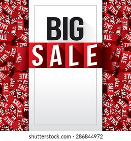 Big Sale. Vector Illustration