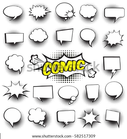 Big Set of CartoonComic