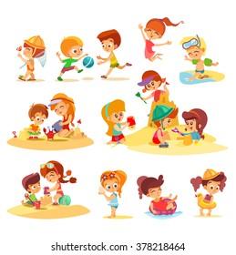 Summer Activities Images Stock Photos Vectors Shutterstock