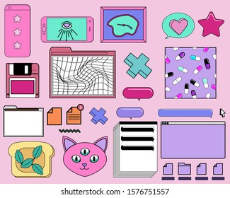 Glitch Aesthetic Images Stock Photos Vectors Shutterstock