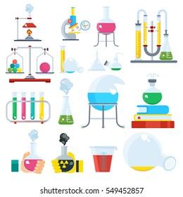 Chemistry Equipment Images, Stock Photos & Vectors