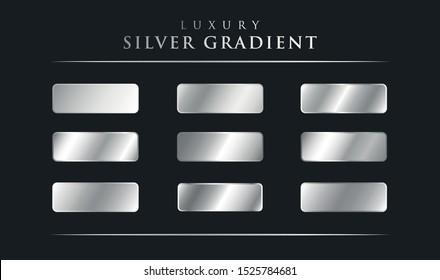Big set of Luxury Silver Gradients