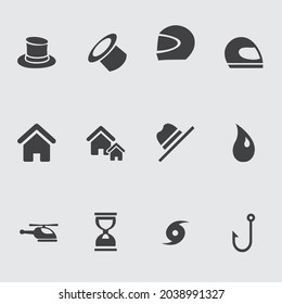Big Set of Miscellaneous Lifestyle Line Icons. Editable Stroke. Finger Touch, Smartphone, Trade, Courier, Bicycle, Seagull, Happy Face.  Miscellaneous icon design - Shutterstock ID 2038991327