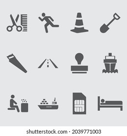 Big Set of Miscellaneous Lifestyle Line Icons. Editable Stroke. Finger Touch, Smartphone, Trade, Courier, Bicycle, Seagull, Happy Face, Cash Machine, Chain Stores, Clothing, Tiger. icon design - Shutterstock ID 2039771003