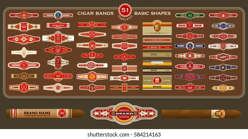 photo regarding Free Printable Cigar Labels named Cigar Band Illustrations or photos, Inventory Illustrations or photos Vectors Shutterstock