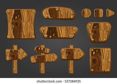 Big set of wooden boards 2