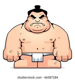 Big Sumo Wrestler