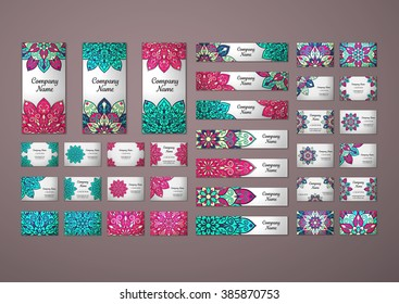 back school templates design set hand stock vector royalty free