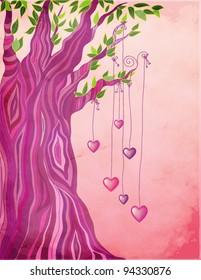 Big Valentine Tree
