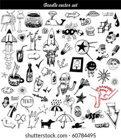 big vector set - doodle