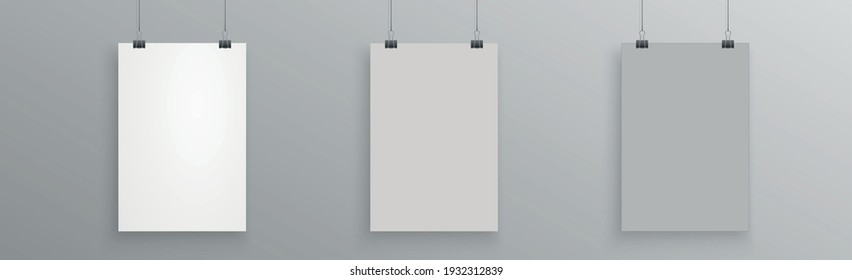 Big White Banner Background Template - illustration