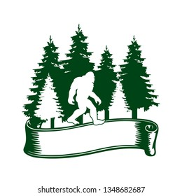 Bigfoot Forest Logo Design
