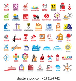 biggest collection of vector icons construction and repair