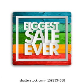 Biggest Sale Ever Images Stock Photos Vectors Shutterstock