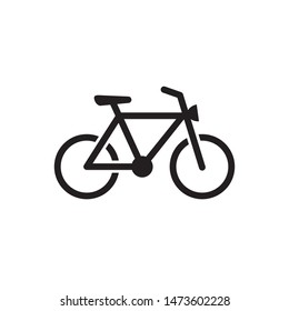 bike bicycle icon vector illustration logo template