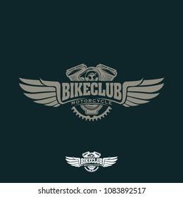 Bike Club Vintage Motorcycle