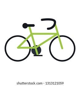 Bike eco vehicle symbol