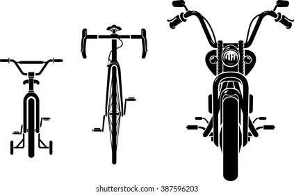 Bike Evolution Front View
